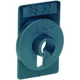 Plaque de montage BS52 pour clé Euro