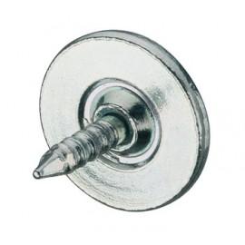 Contre-plaque pour loqueteau magnétique