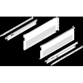 METABOX côté en acier H 150 mm, sortie totale