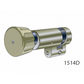 Demi-Cylindre à bouton 1514DK, Kaba 8