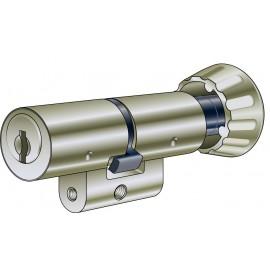 Cylindre à bouton asymétrique 1519A, KABA 8