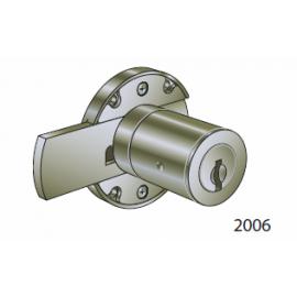 Serrure pour meuble 2006/R/25 avec cylindre