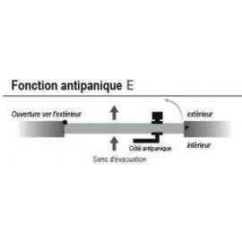 Fonction antipanique E